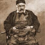 Negustor armean, în costum oriental – desen de Zuber (1867-1918)