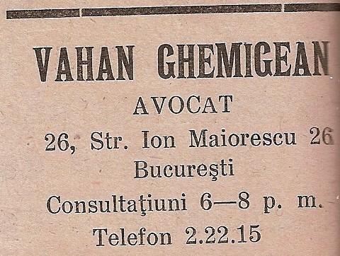 Vahan Ghemigean 1939