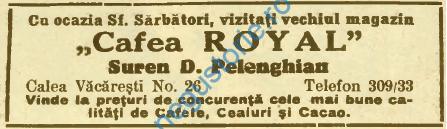 Pelenghian - Cafea Royal
