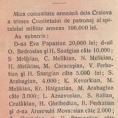 Donatii de la Craiova