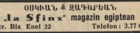 Osighian & Zakarian - La Sfinx