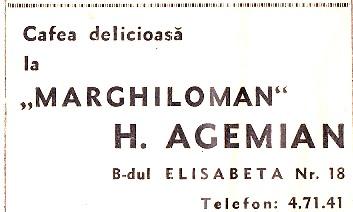 Agemian - Marghiloman - 1940