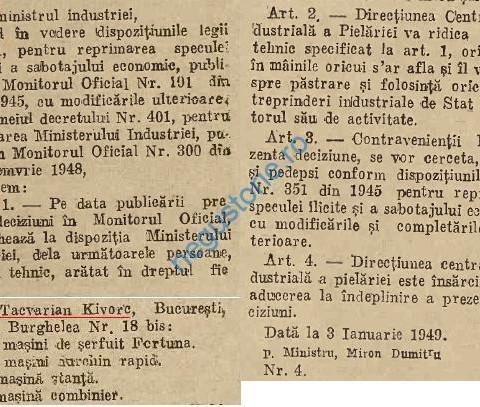 Tacvarian Kivorc