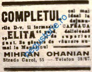 Ohanian - Cafea Elita
