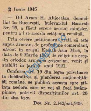 Aram Altiocaian