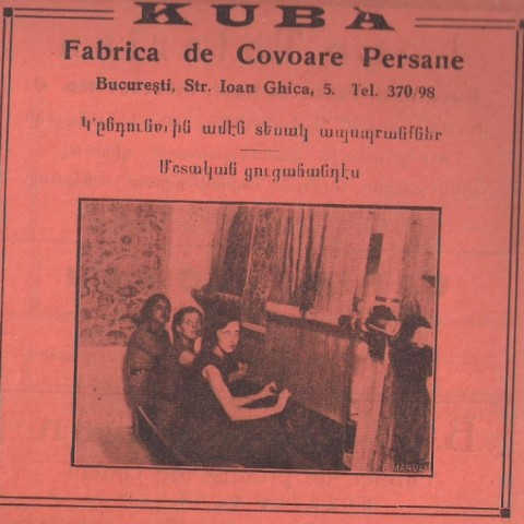 Kuba - covoare persane