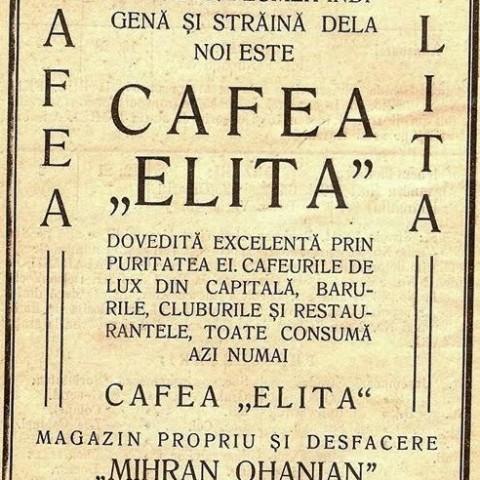 Mihran Ohanian - Cafea Elita