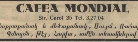Mouradian M. Mihran - Cafea Mondian
