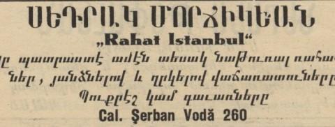 Setreag Morgighian - Rahat Istambul