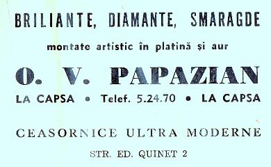 Papazian - Bijutier - 1940